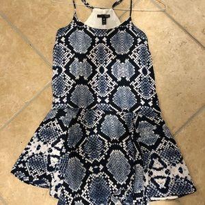 Cute flowy aqua dress!